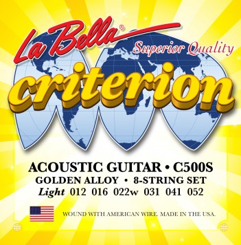 C500S CRITERION ACOUSTIC GUITAR, GOLDEN ALLOY – LIGHT