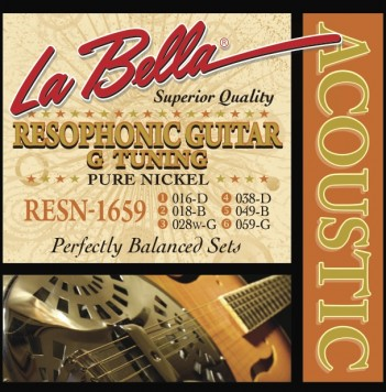 RESN-1659 RESOPHONIC, PURE NICKEL – G TUNING, 16-59
