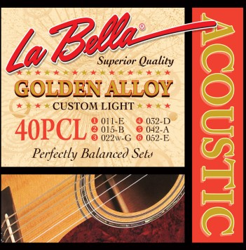 40PCL GOLDEN ALLOY – CUSTOM LIGHT