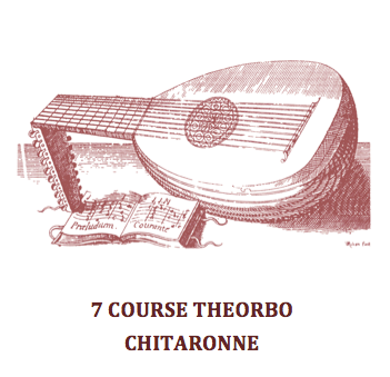 7 COURSE THEORBO / CHITARRONE