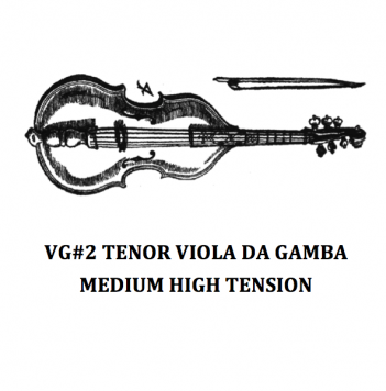 VG#2 TENOR VIOLA DA GAMBA – MEDIUM HIGH TENSION
