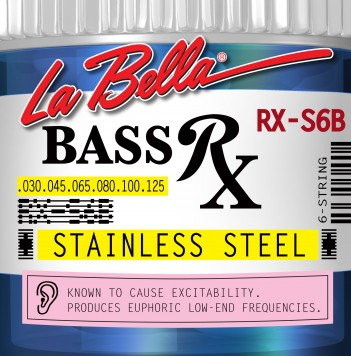 RX-S6B BASS RX STAINLESS STEEL, 30-40-60-80-100-125