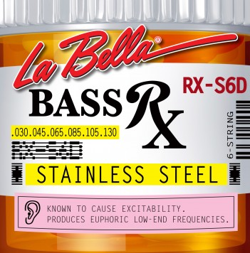 RX-S6D BASS RX STAINLESS STEEL, 30-45-65-85-105-130