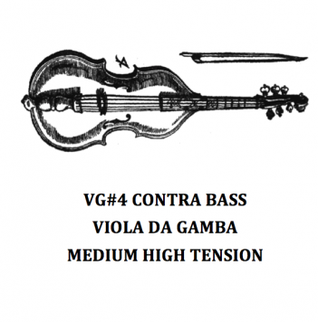 VG#3 BASS VIOLA DA GAMBA – MEDIUM HIGH TENSION