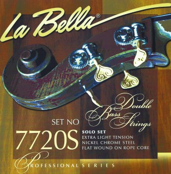 7720S SOLO EXTRA LIGHT TENSION DOUBLE BASS SET