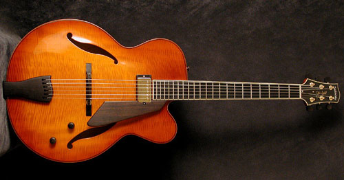 JIM HALL SIGNATURE ARCHTOP