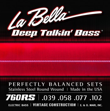 760RS DEEP' TALKIN' BASS, ROUND WOUND – SOFT 40-102