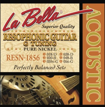 RESN-1856 RESOPHONIC, PURE NICKEL – G TUNING, 18-56
