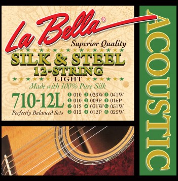 710-12L 12-STRING SILK & STEEL – LIGHT