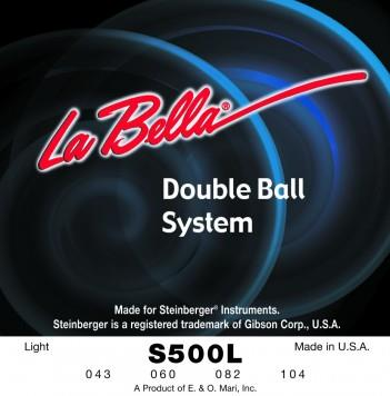 S500L DOUBLE BALL BASS FLAT WOUND – LIGHT 43-104