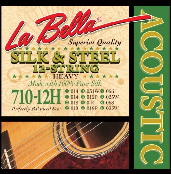710-12H 12-STRING SILK & STEEL – HEAVY