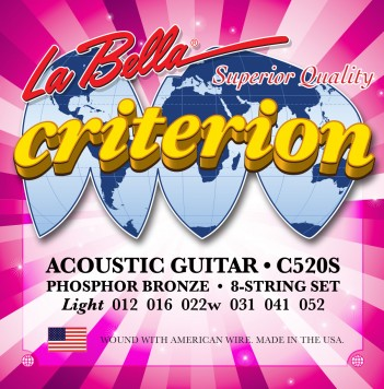 C520S CRITERION ACOUSTIC GUITAR, PHOSPHOR BRONZE – LIGHT