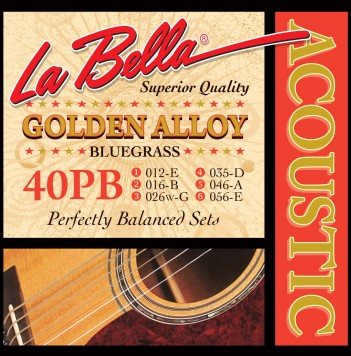 40PB GOLDEN ALLOY – BLUEGRASS