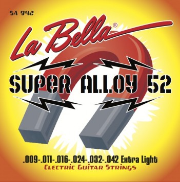 SA942 SUPER ALLOY 52 – EXTRA LIGHT 09-42