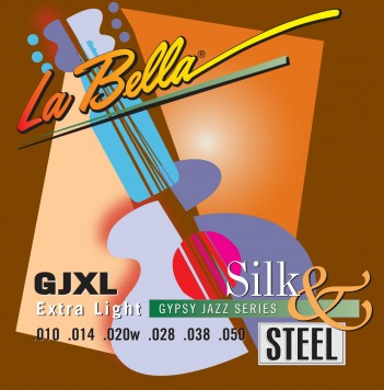 GJXL-LE GYPSY JAZZ SILK & STEEL – EXTRA LIGHT, BALL-ENDS