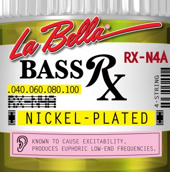 RX-N4A BASS RX NICKEL-PLATED, 40-60-80-100