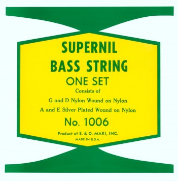 1006 SUPERNIL DOUBLE BASS SET