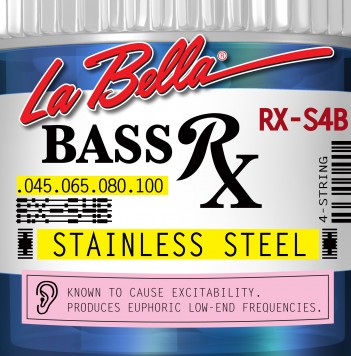 RX-S4B BASS RX STAINLESS STEEL, 45-65-80-100