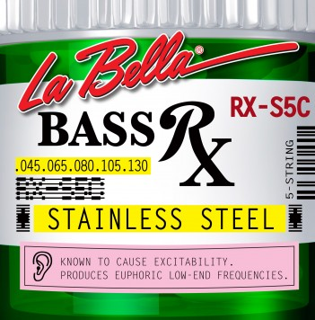 RX-S5C BASS RX STAINLESS STEEL, 45-65-80-105-130