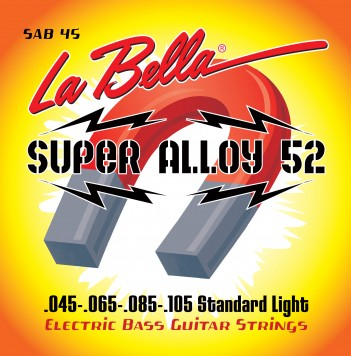 SAB45 SUPER ALLOY 52 BASS – STANDARD LIGHT 45-105