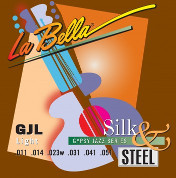 GJL-BE GYPSY JAZZ SILK & STEEL – LIGHT, BALL-ENDS