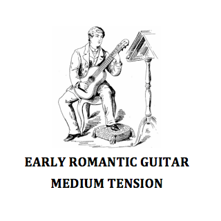 EARLY ROMANTIC GUITAR – MEDIUM TENSION