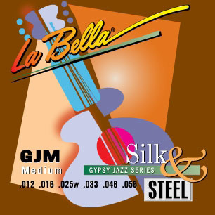 GJM-BE GYPSY JAZZ SILK & STEEL – MEDIUM, BALL-ENDS