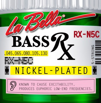 RX-N5C BASS RX NICKEL-PLATED, 45-65-80-105-130
