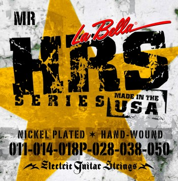 HRS-MR NICKEL- PLATED ROUND WOUND – BLUES LIGHT 11-50